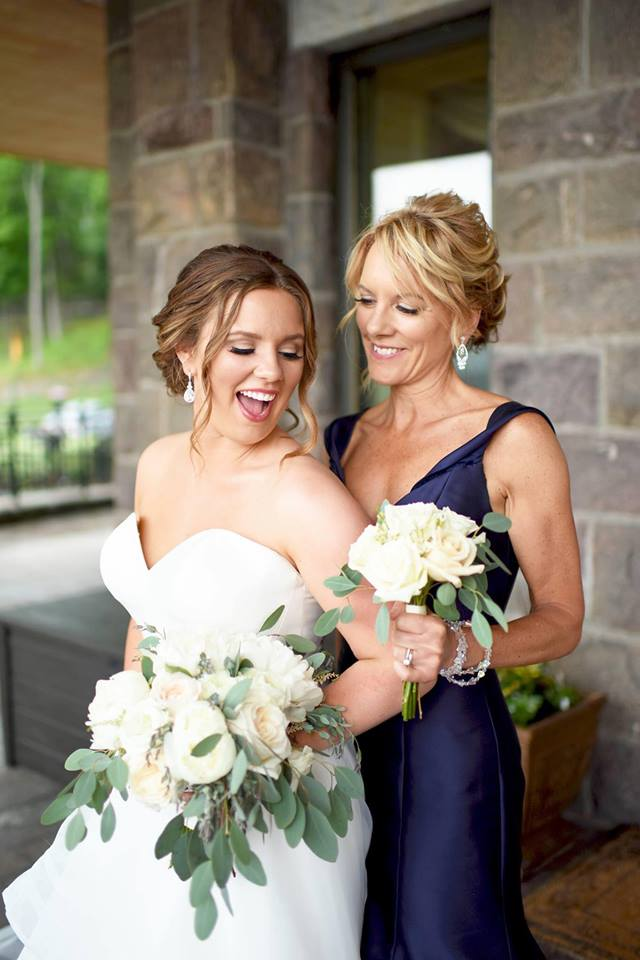 Lindsay Lake George Casey McKenzie Photography Color Me Gorgeous Wedding Bridal Makeup New York 2