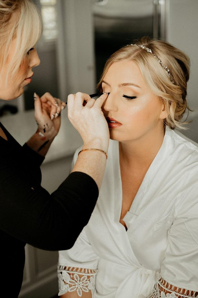 Emily Cooperstown The Portos Color Me Gorgeous Photography Wedding Bridal Makeup